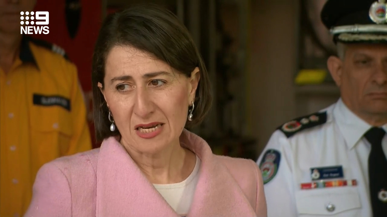 NSW Premier on the 'Get Ready' campaign