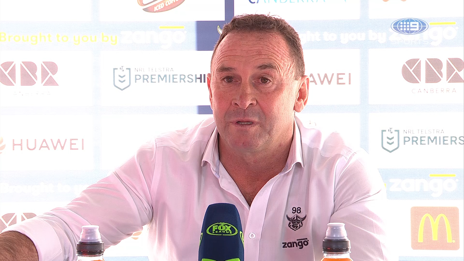 NRL Presser: Raiders v Warriors - Round 19 - Ricky Stuart