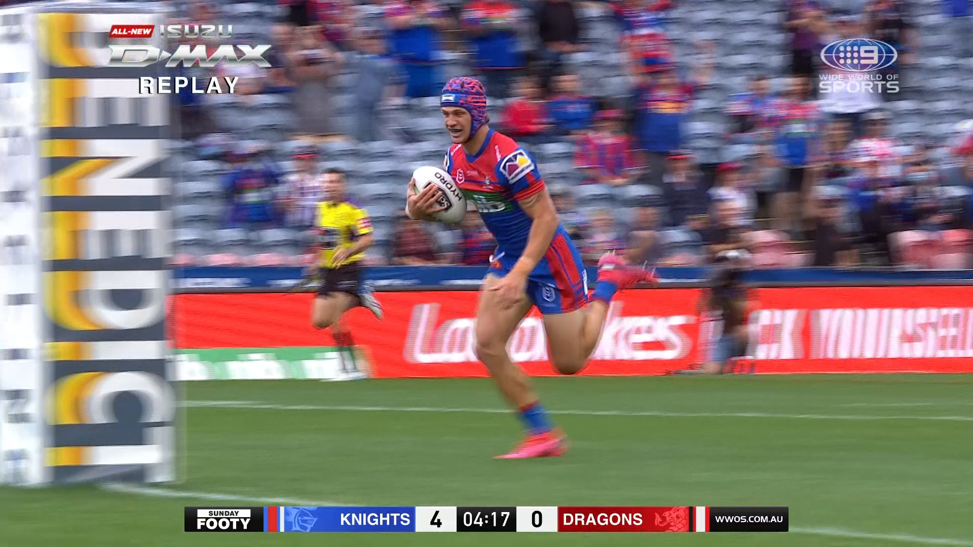 NRL Highlights: Knights v Dragons - Round 19