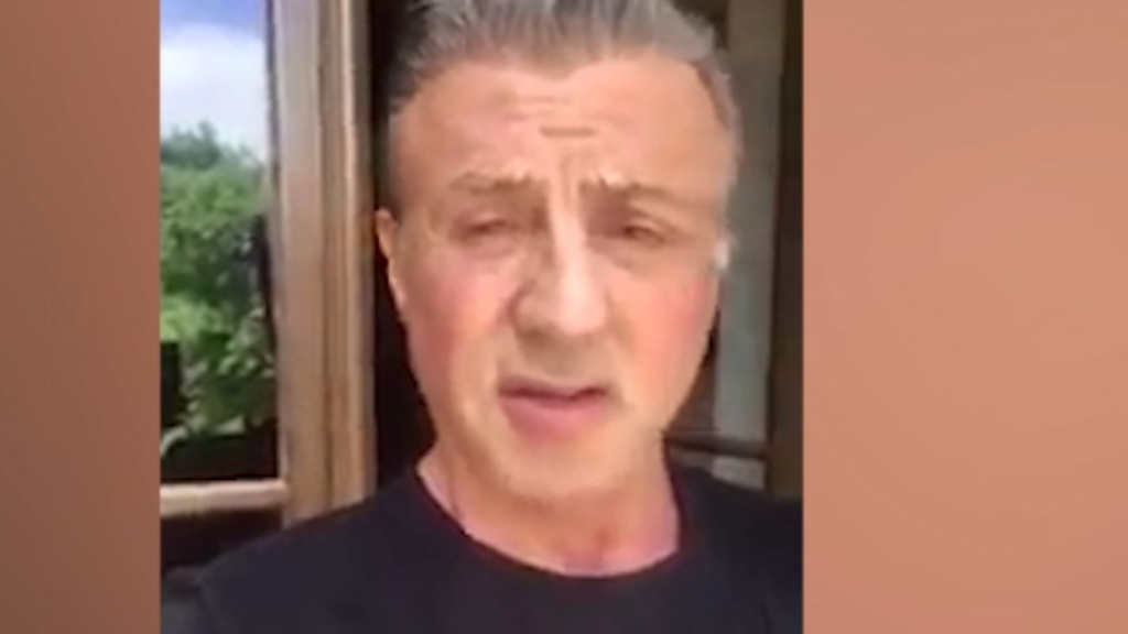 Sylvester Stallone wishes mum a happy Mother's Day