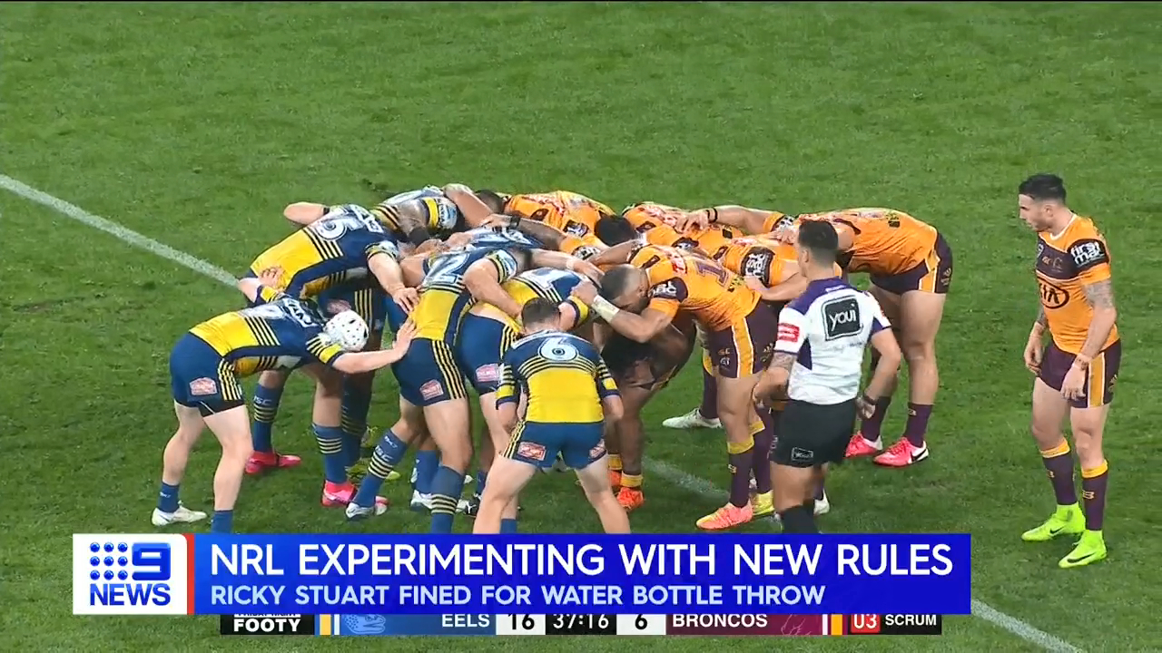 NRL experiment with new rules