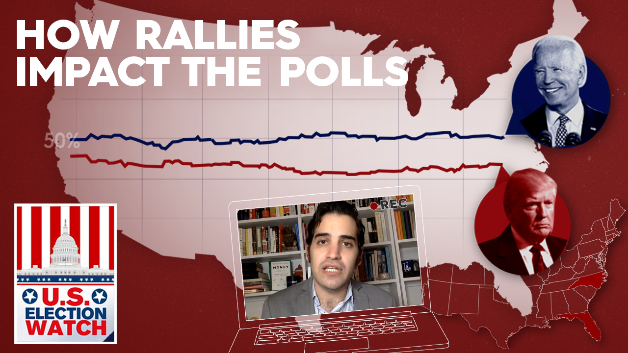 US Election Watch: How rallies during COVID impact the polls