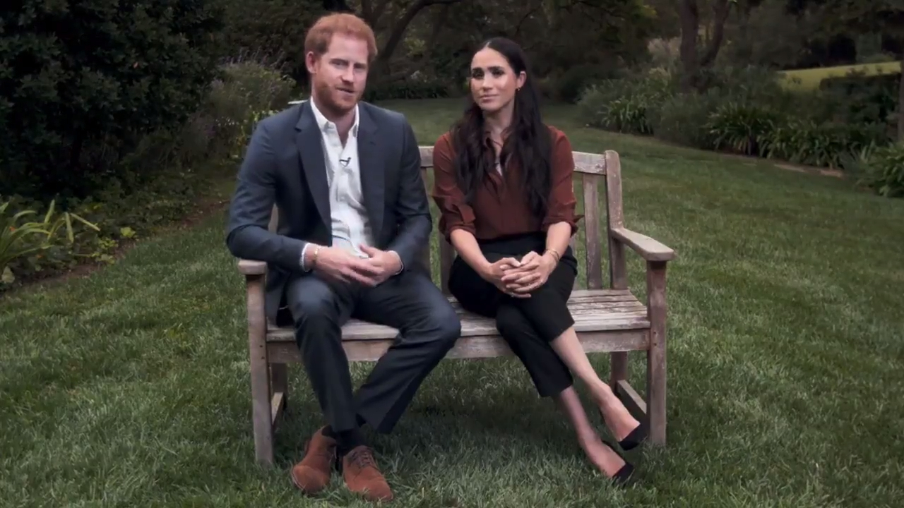 Prince Harry and Meghan Markle appear in TIME TV special