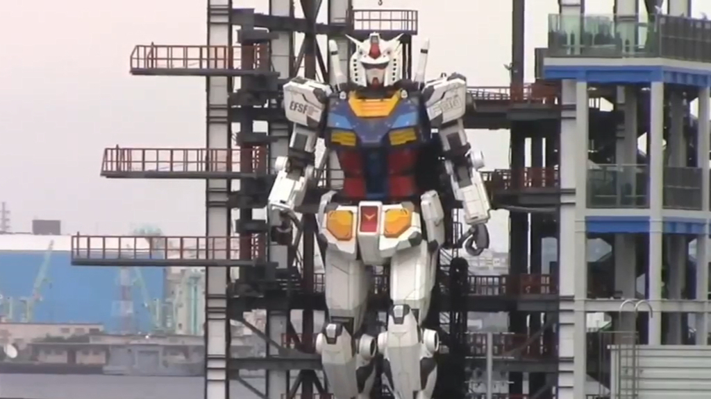 Giant robot tested in Japan