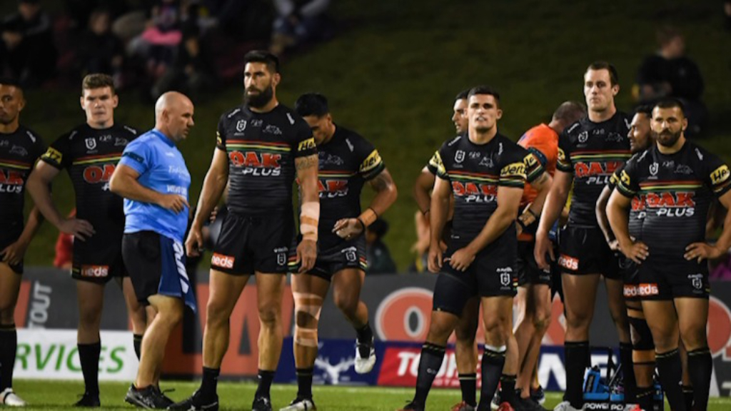 Andrew Johns discusses Penrith's social media saga