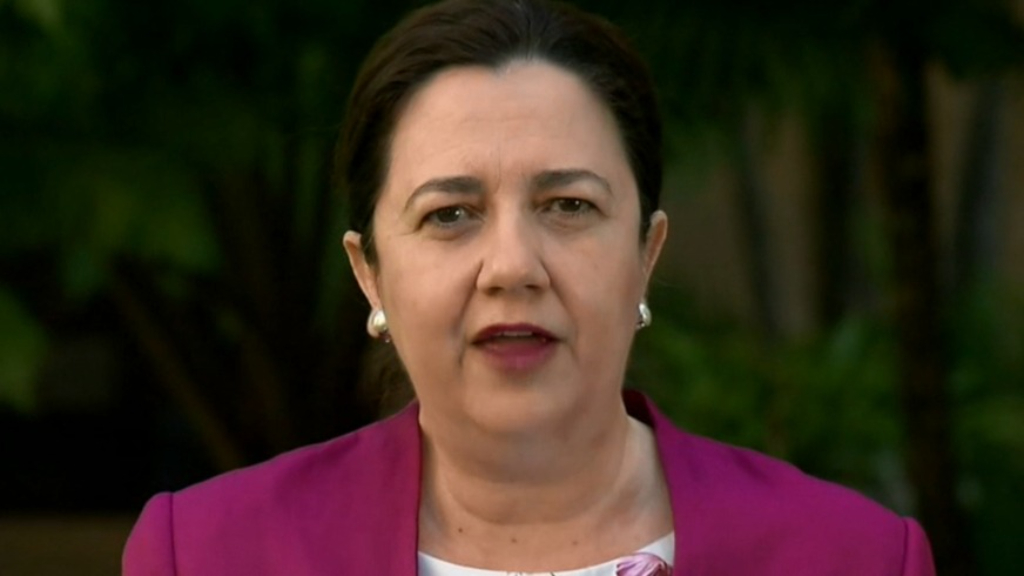 Tension between Palaszczuk and Morrison Government on border policy