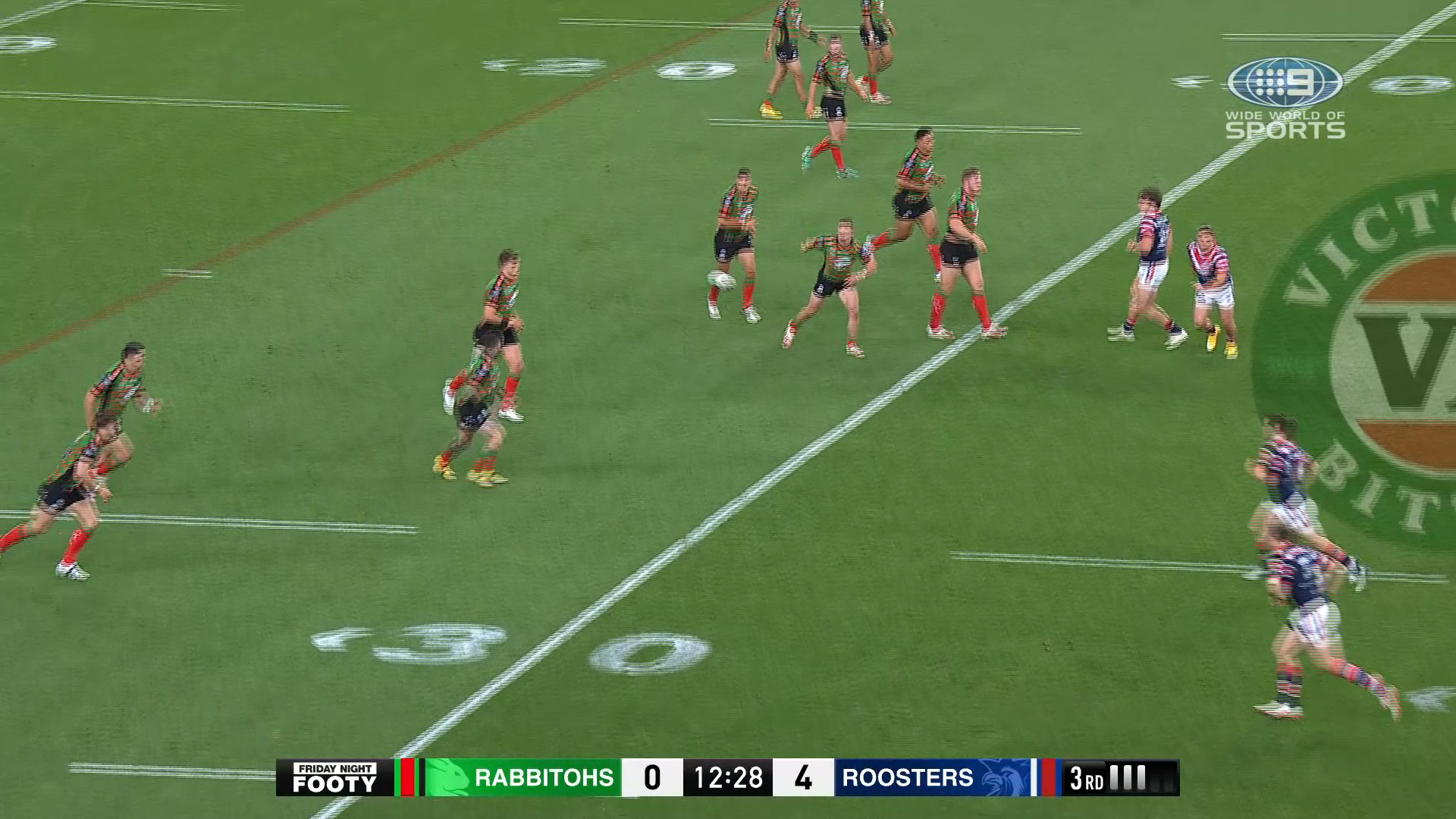NRL Highlights: Rabbitohs v Roosters - Round 20