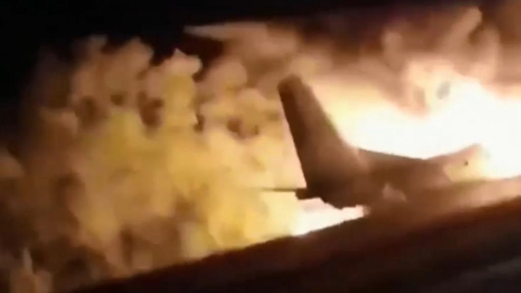 Deadly plane crash in Ukraine kills at least 22 people