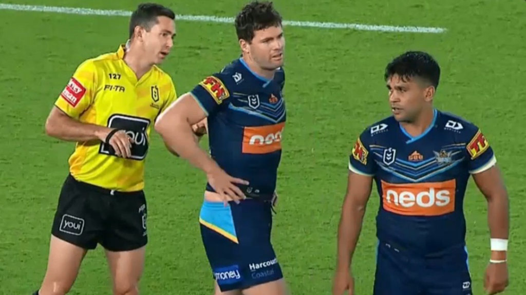 Knights' Barnett accused of racial slur
