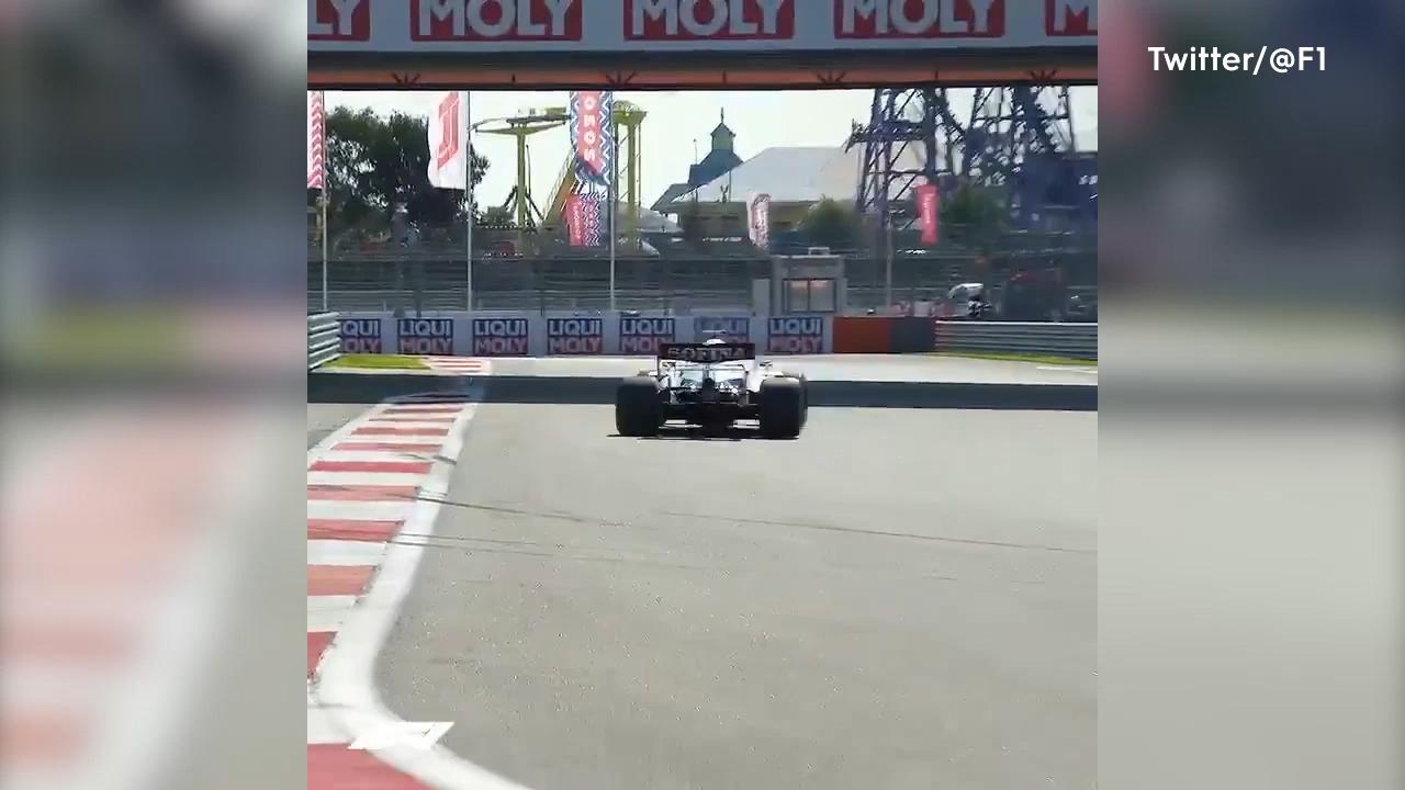 Verstappen sees red in Russian practice