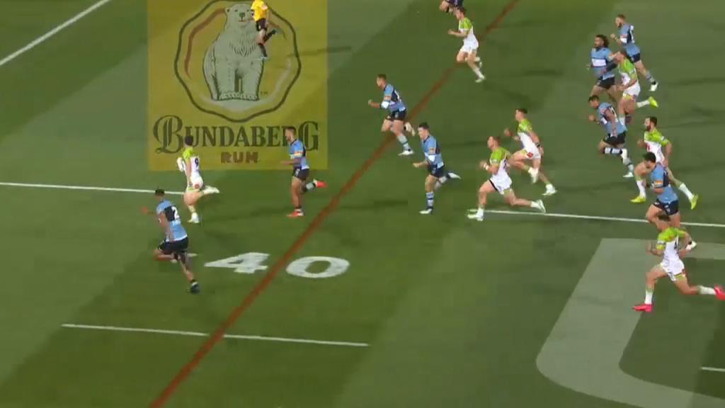 Williams skips across