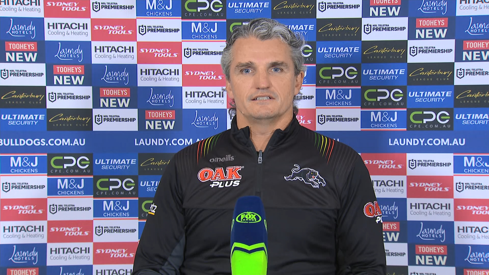 Bulldogs v Panthers Round 20: Presser - Ivan Cleary