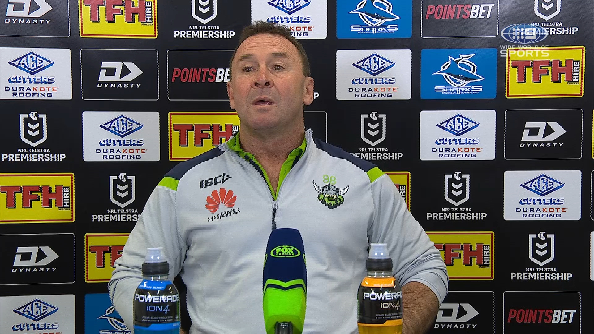 NRL Presser: Sharks v Raiders - Round 20- Ricky Stuart