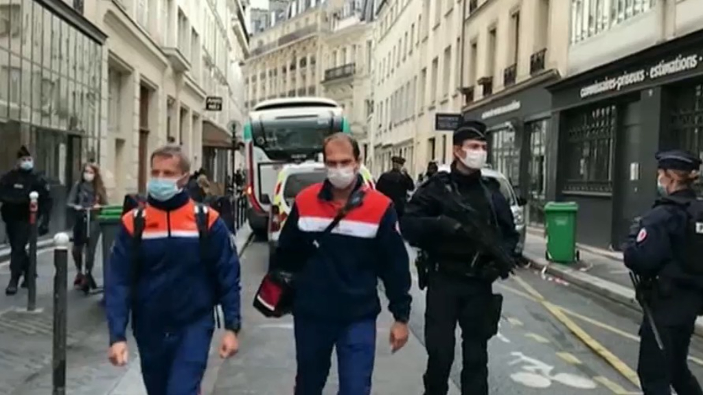 Multiple injuries after stabbing in Paris near former Charlie Hedbo offices