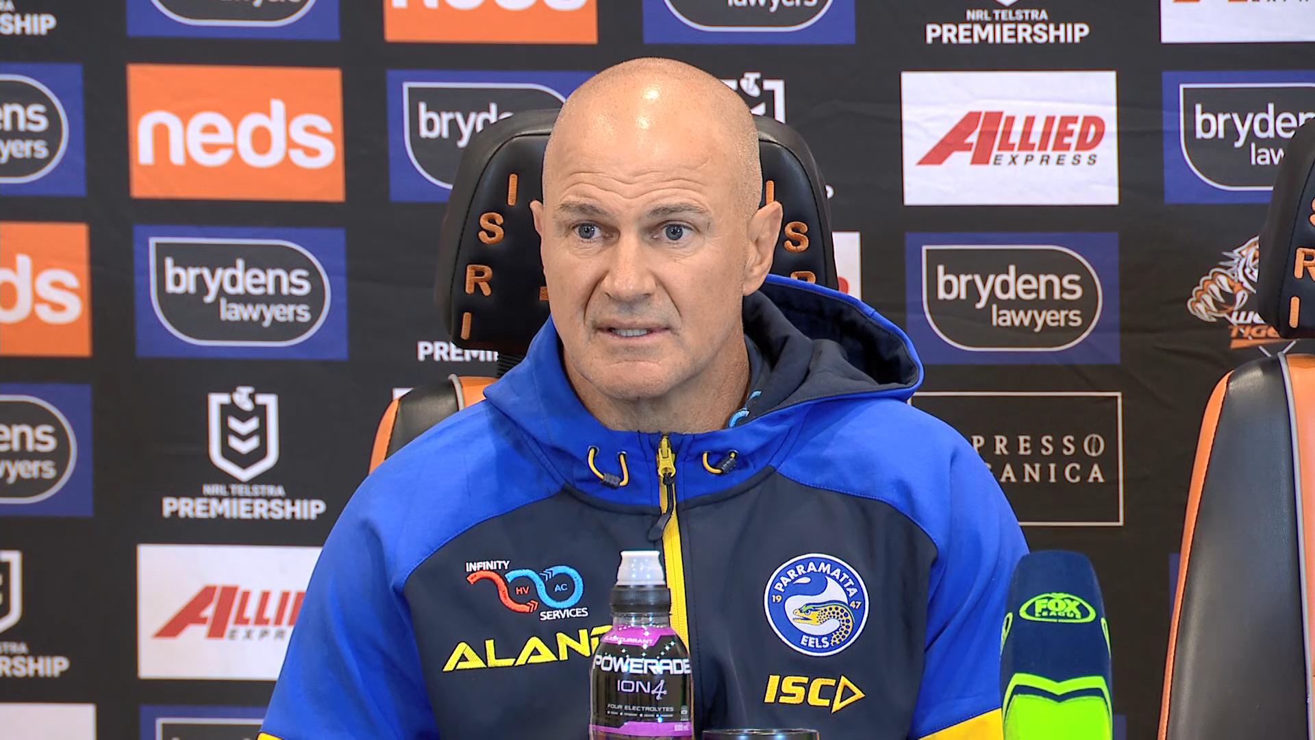 NRL Presser: Tigers v Eels - Round 20: Brad Arthur