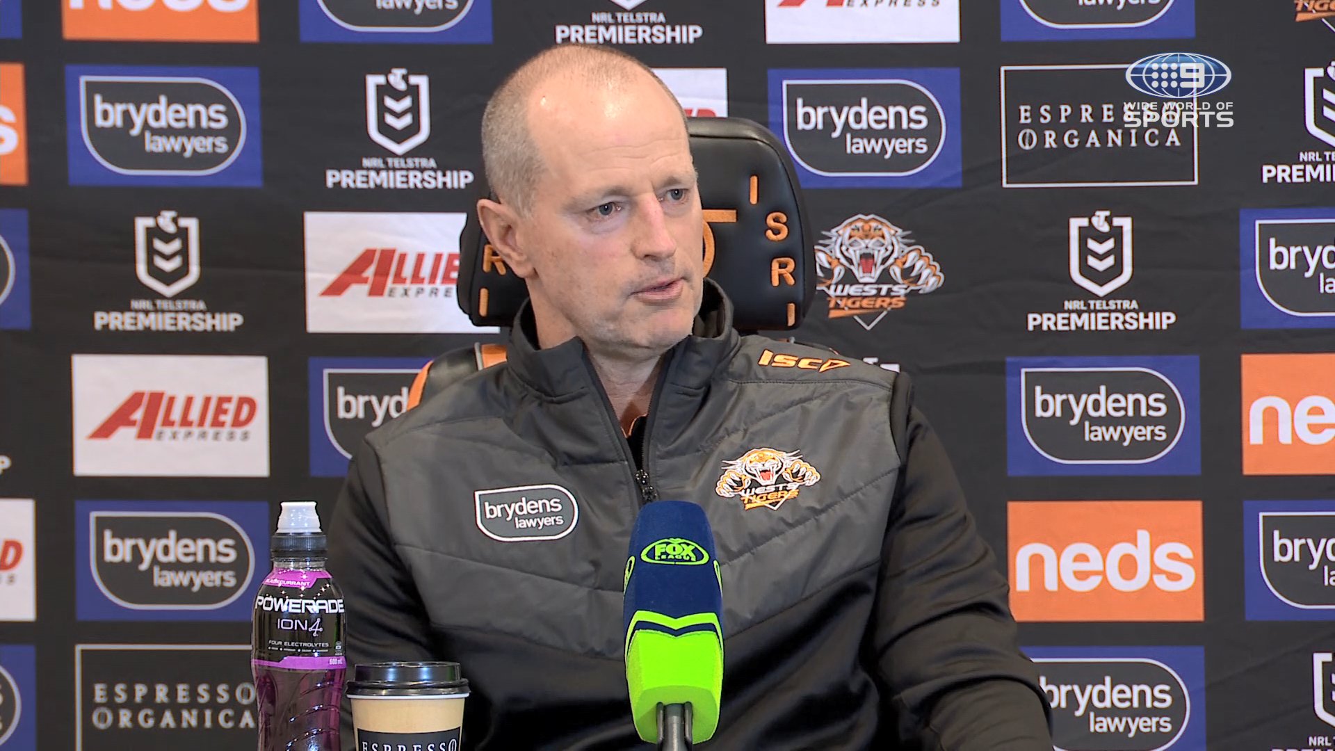 NRL Presser: Tigers v Eels - Round 20: Michael Maguire