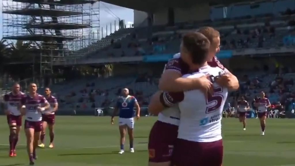 DCE's perfect pass for Garrick