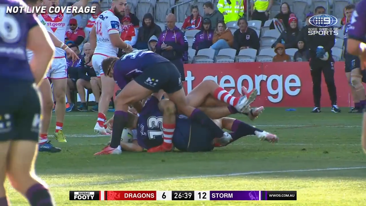 Joey rips Storm for 'dangerous' tackle