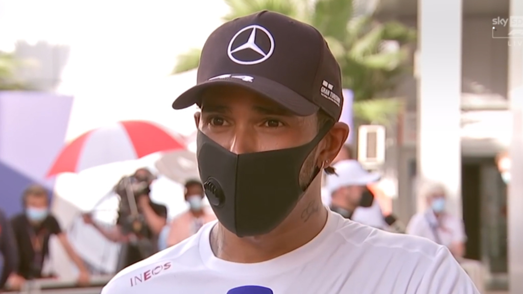 'They're trying to stop me': Hamilton