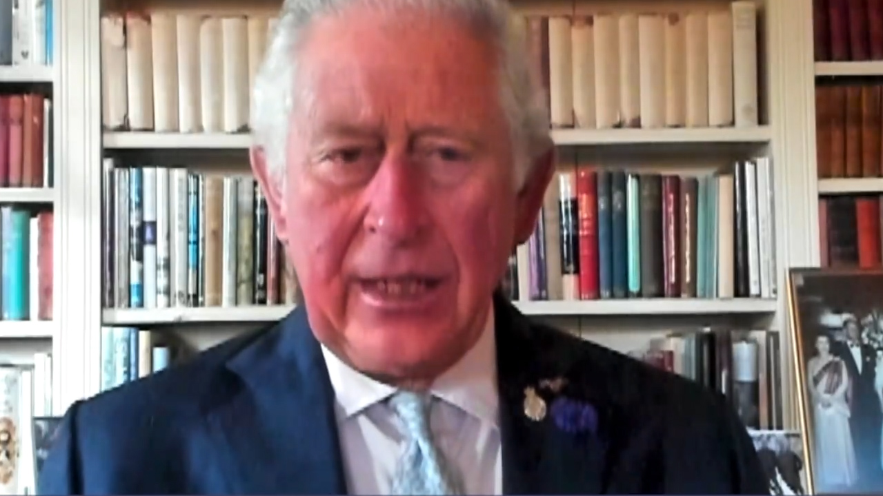 Prince Charles pays tribute on National Police Memorial Day