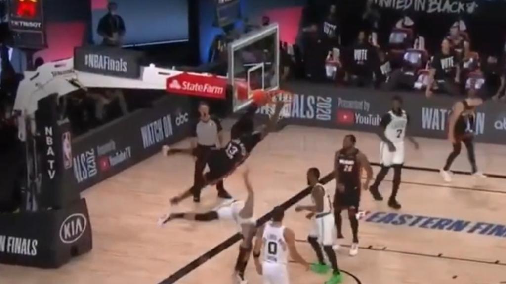 Adebayo's huge EC Finals dunk