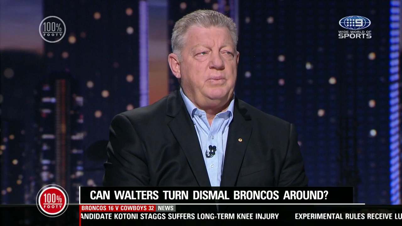Gus' big fear for Walters