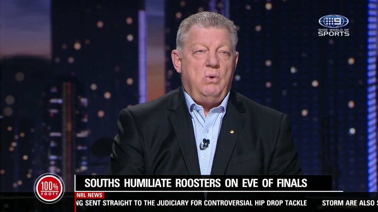 Gus writes off the Roosters' title hopes