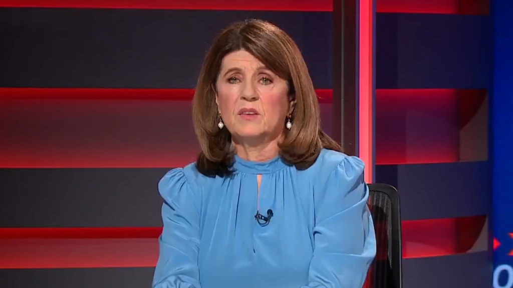 Caroline Wilson take aim at AFL Chairman Richard Goyder for not making the trip to Queensland