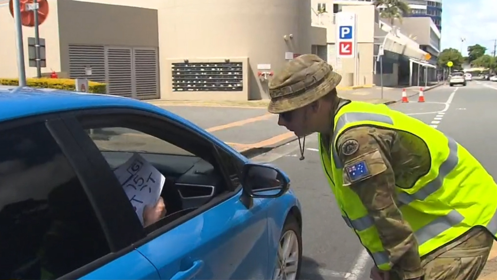 Coronavirus: 58 ADF soldiers to be replaced with extra police at Queensland borders