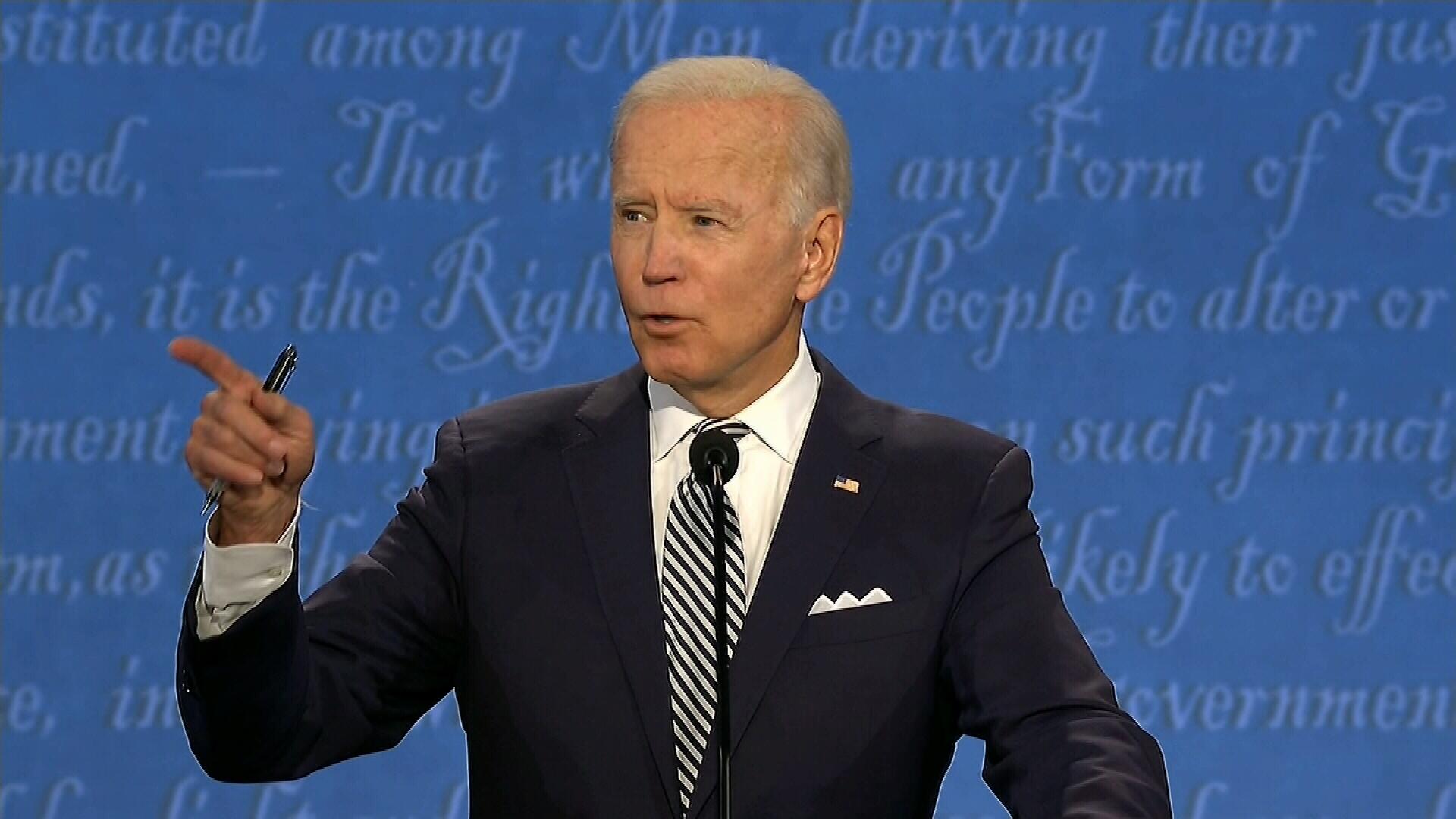 Biden on COVID-19: 'The president has no plan'