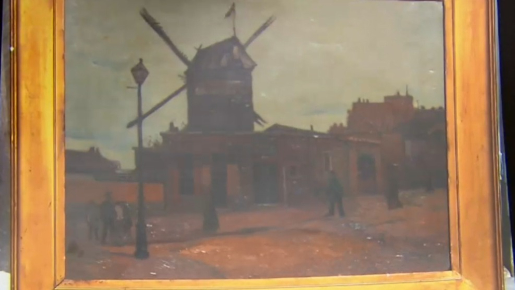 Mystery painting in Melbourne could be authentic Van Gogh