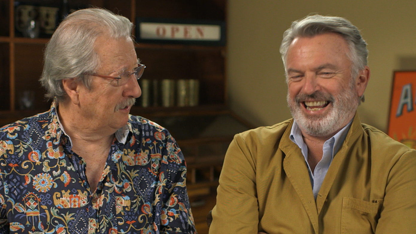 Sam Neill and Michael Caton reunite for Aussie movie Rams