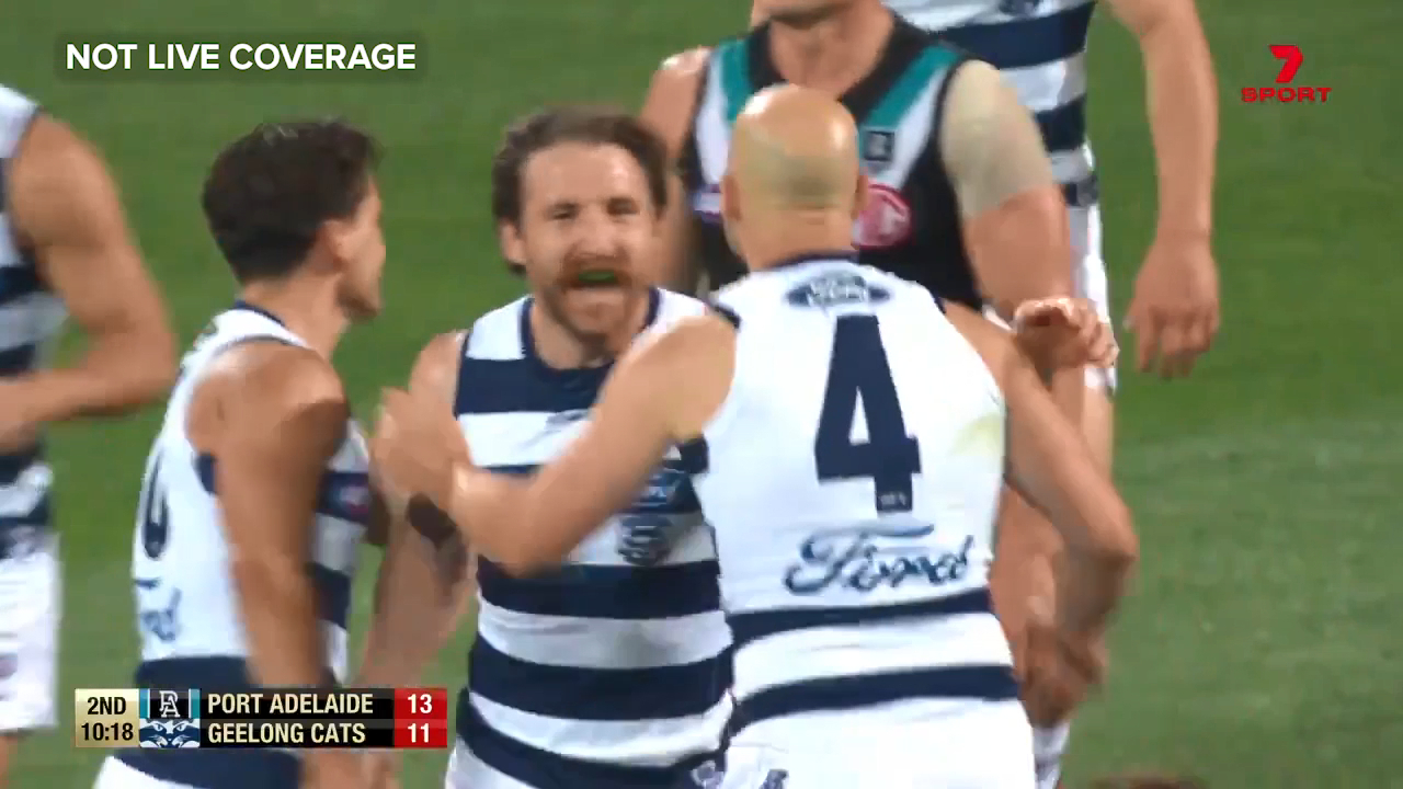 Tuohy gives Cats the lead