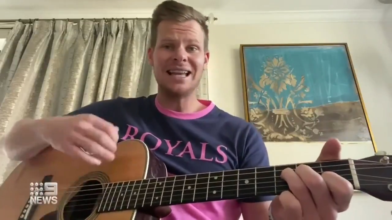Smith shows off his singing chops