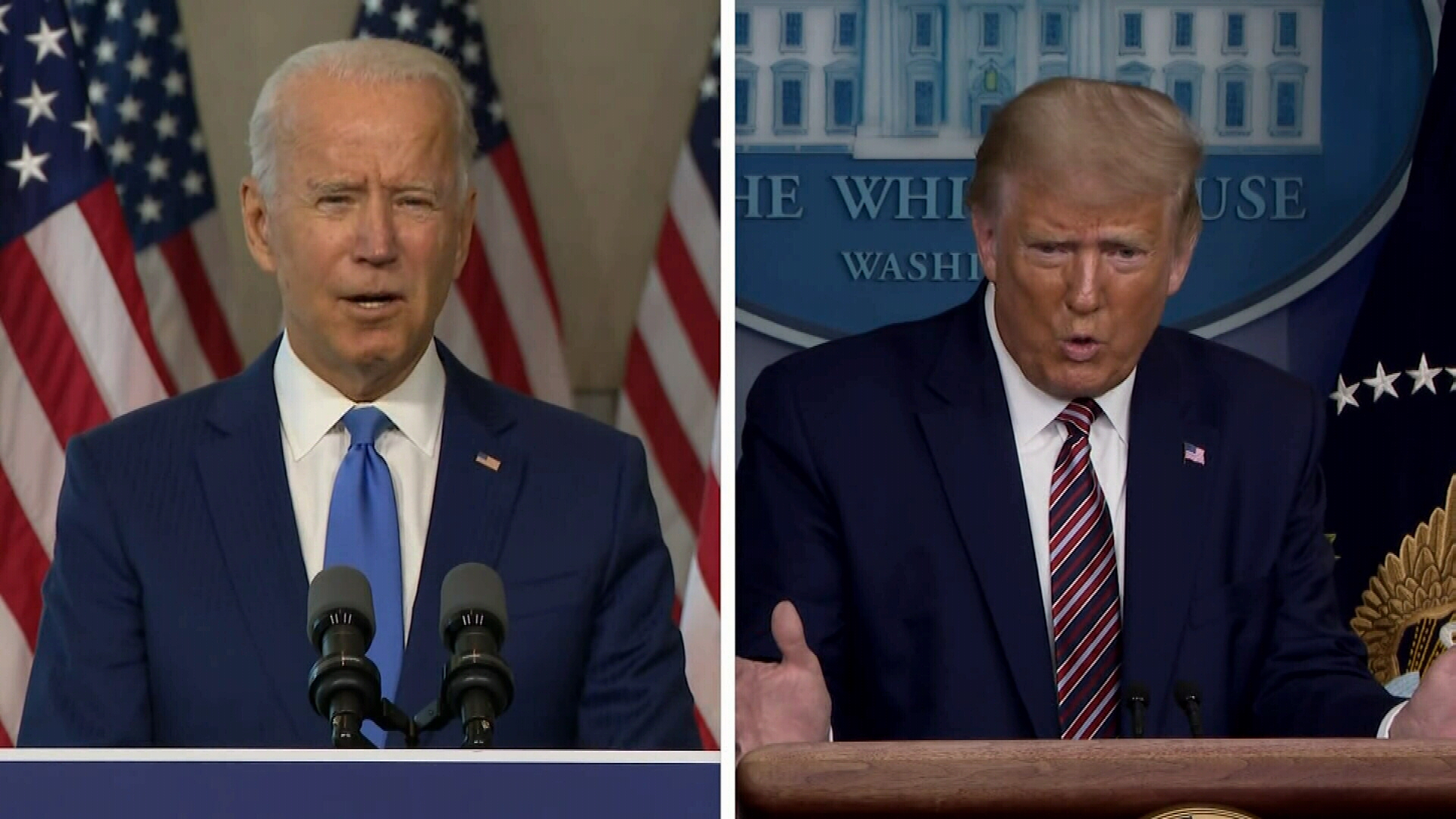 Trump and Biden gear up for competing TV debates