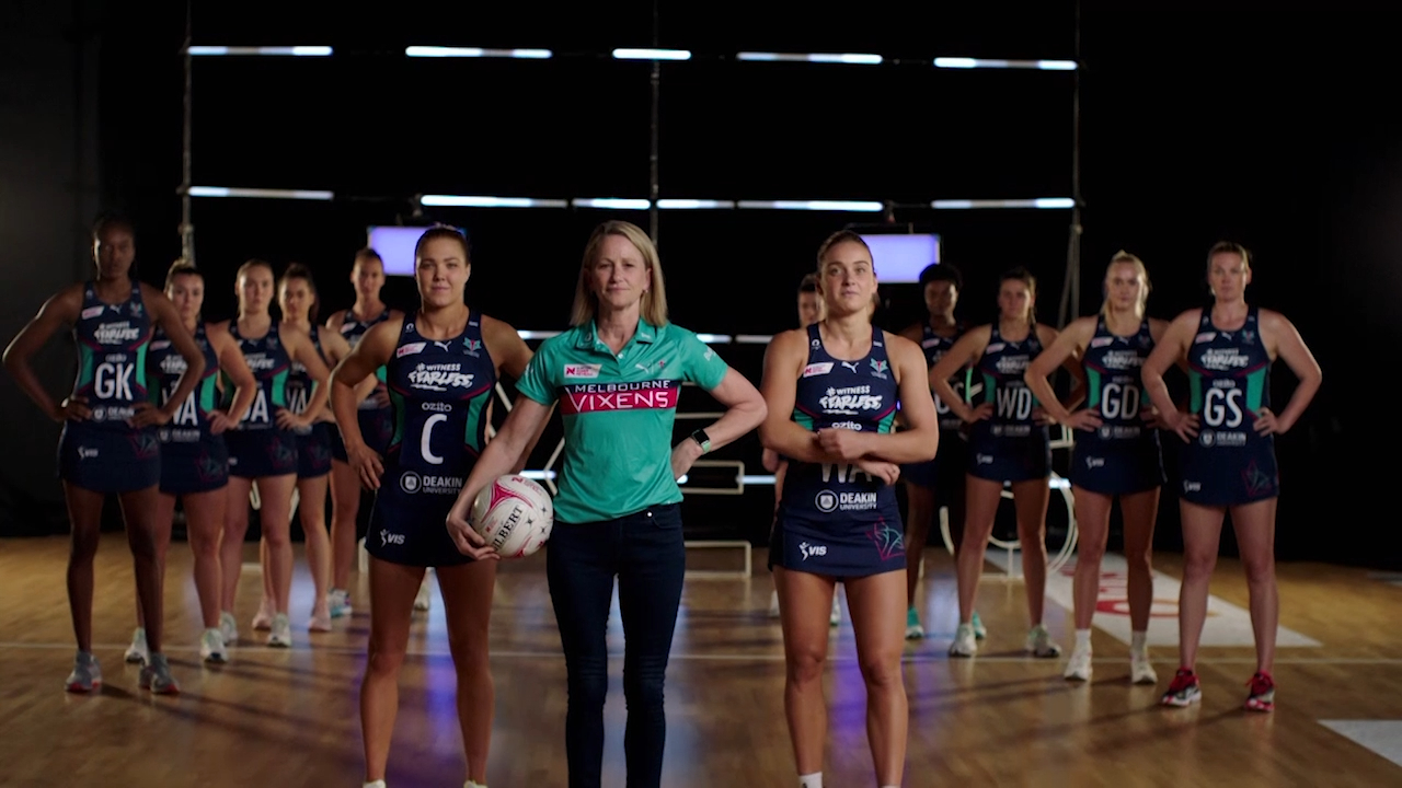 Why Vixens are desperate to 'do it for Victoria'