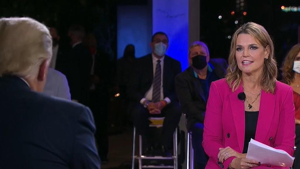 Trump lashes at moderator for ratings loss