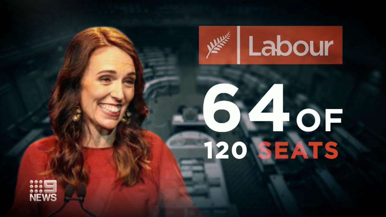Jacinda Ardern claims historic landslide victory