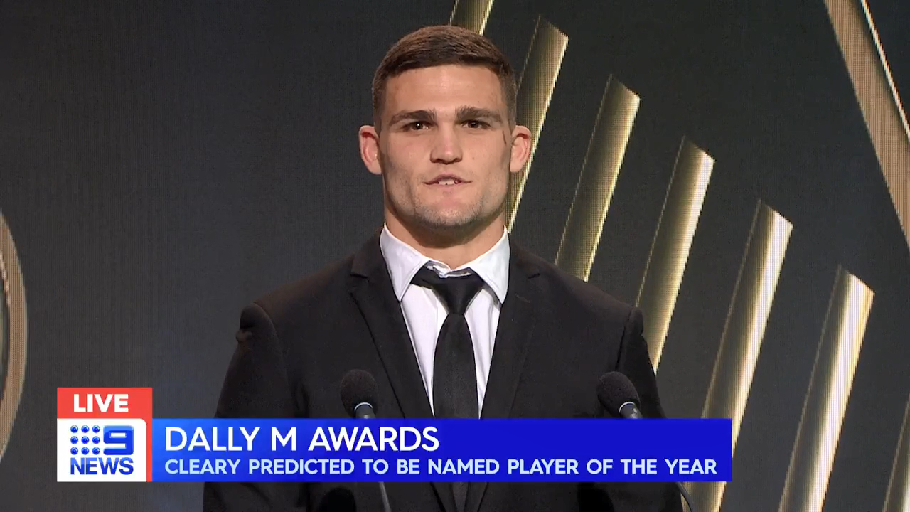 Cleary speaks on Dally M chances