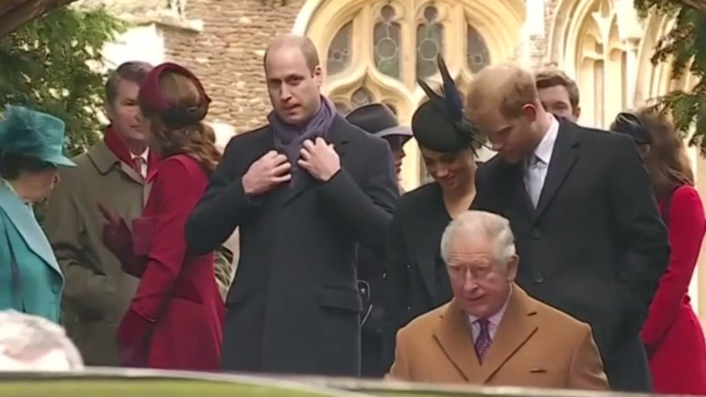 Princes William and Harry's feud