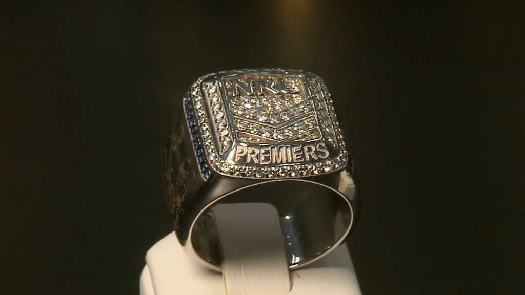 NRL grand final winners to be presented with gold and diamond ring