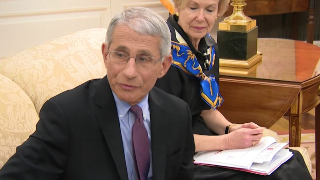 Trump targets Dr Fauci while campaigning