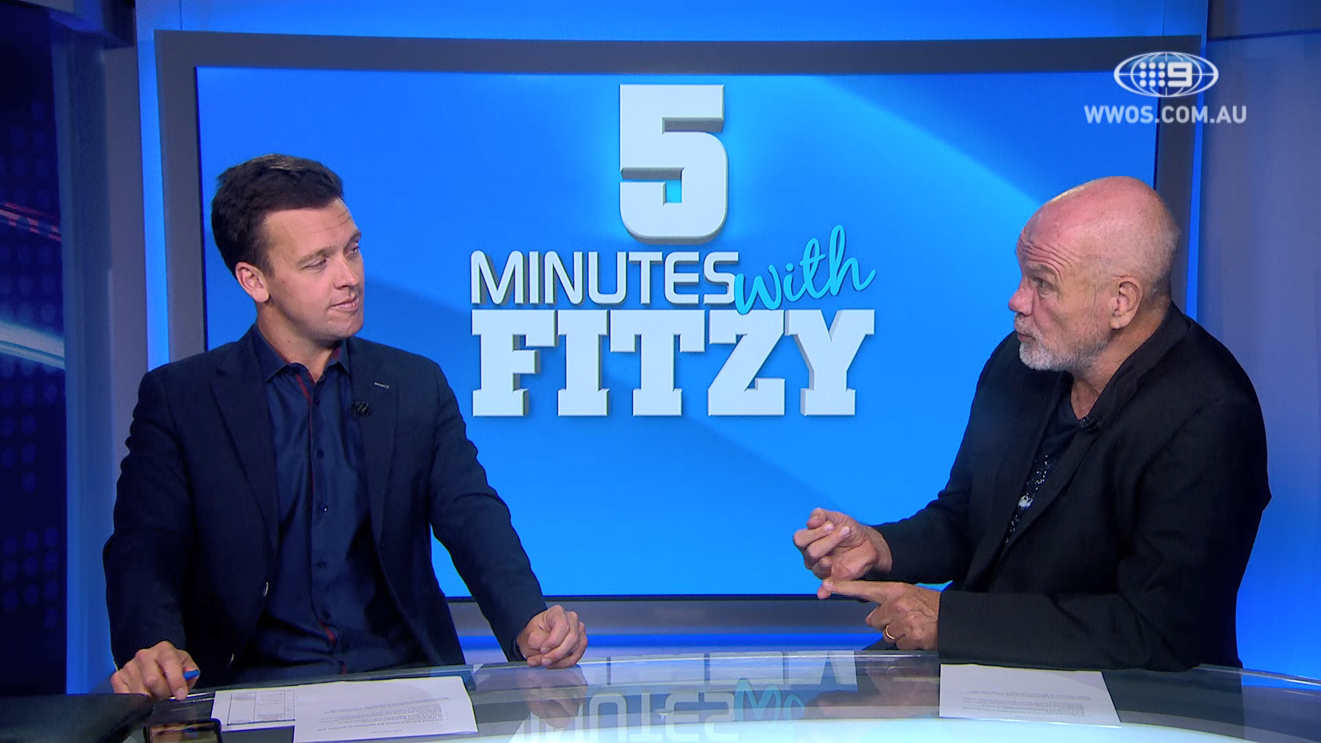 Fitzy defends the Wallabies' performance against the All Blacks: 5 Mins with Fitzy