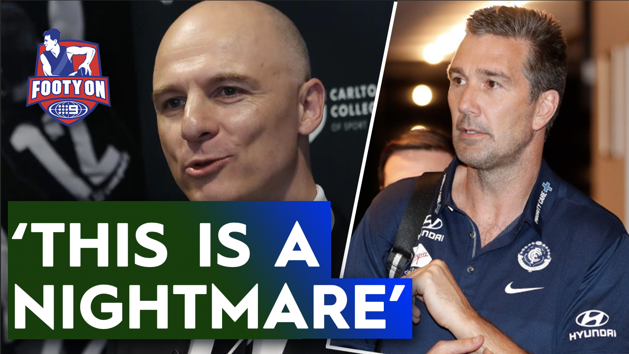 Reacting to Stephen Silvagni's explosive claims about Blues sacking