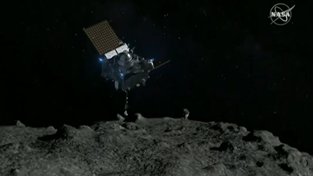 NASA land on asteroid for the first time