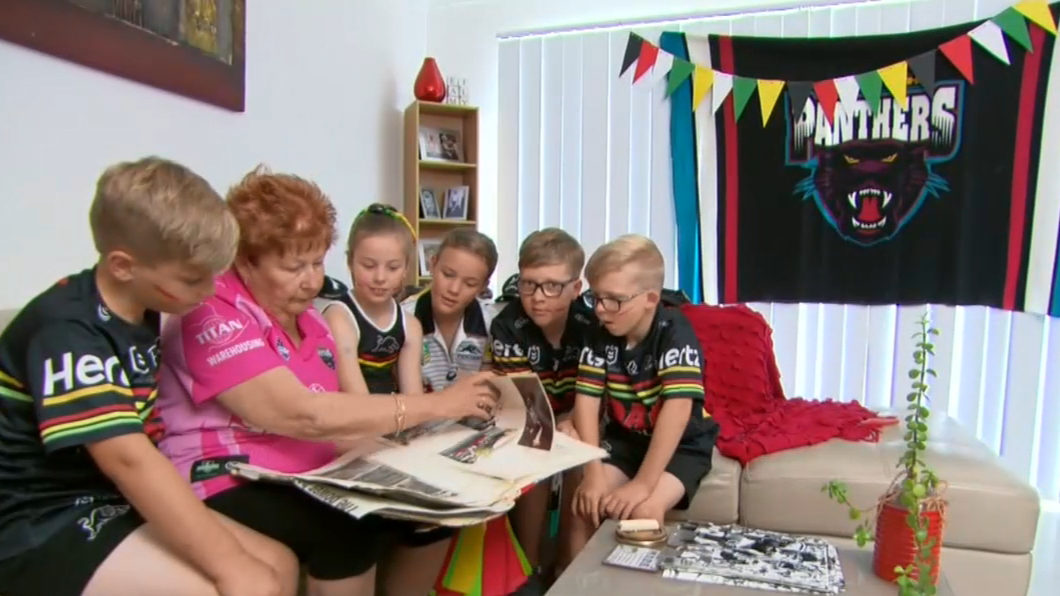 Panthers fans prepare for NRL Grand Final