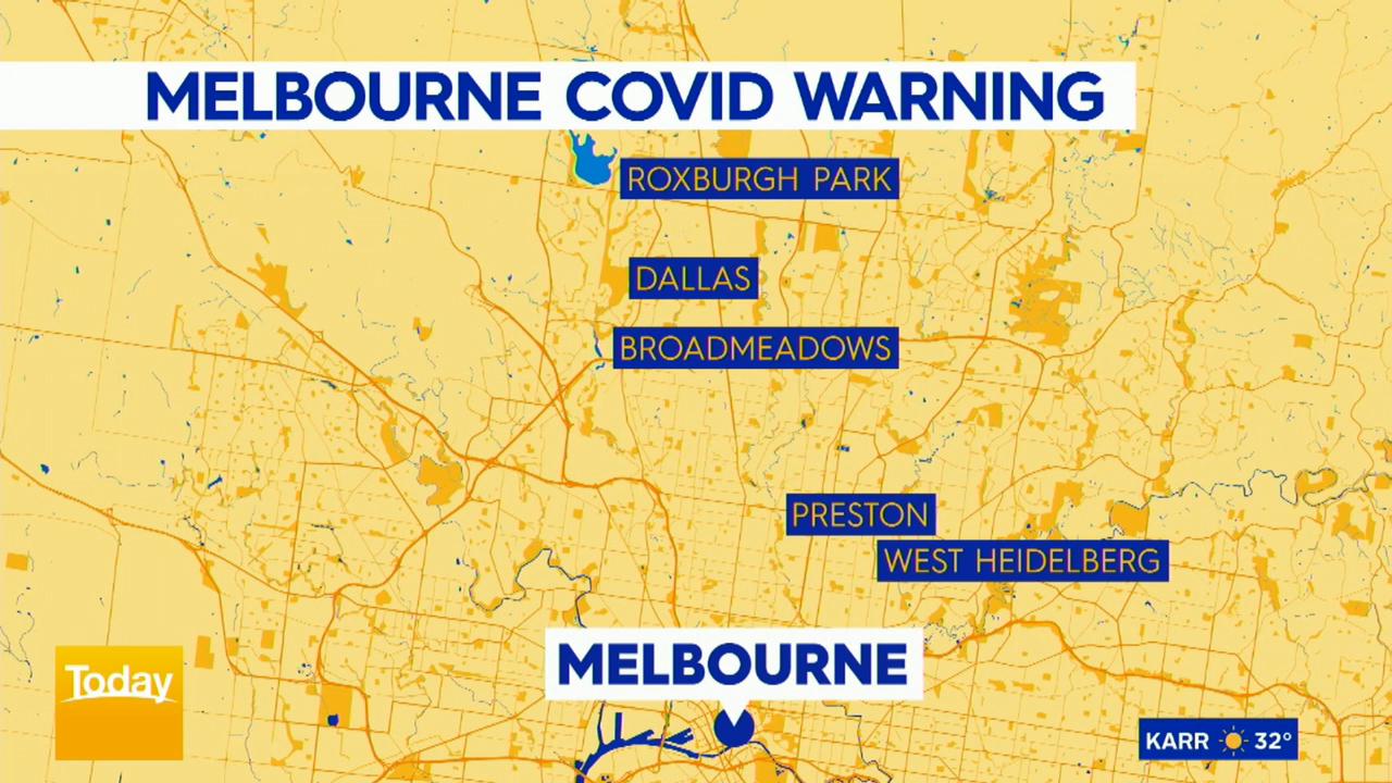 Coronavirus: Melbourne public housing tower sent into lockdown
