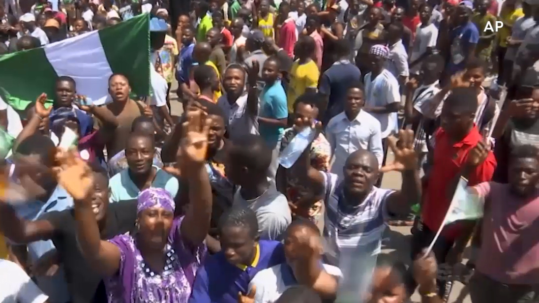 Nigerians protest police brutality