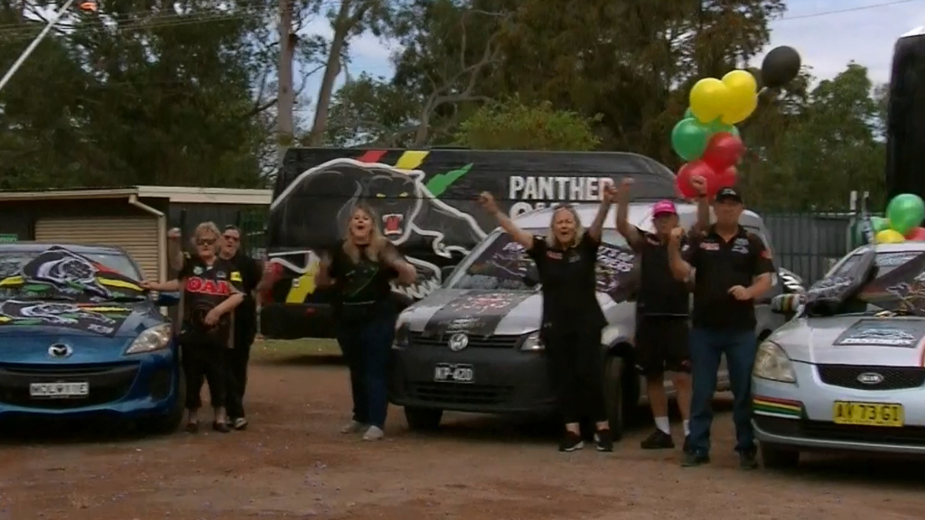 Penrith Panthers fans prepare for NRL Grand Final
