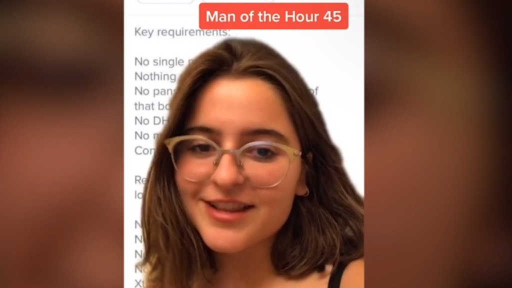 Tinder man mocked for 'outrageous' requirements for women